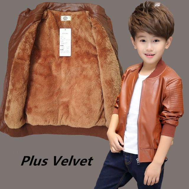 Cute veste en simili cuir