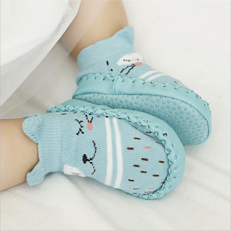 Chaussons bébé anti-dérapant