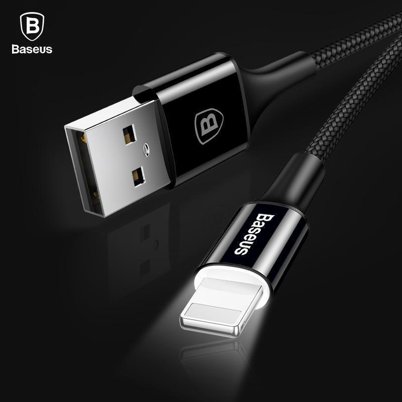 Câble USB lumineux pour Iphone