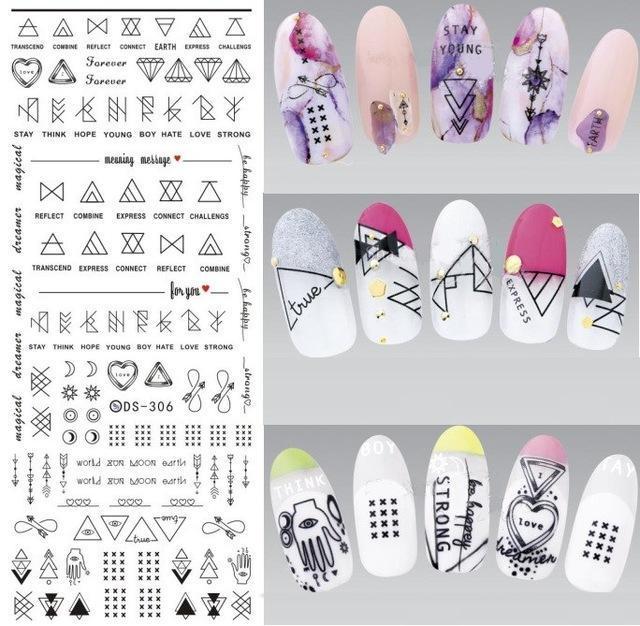 Sticker décoratif pour ongles