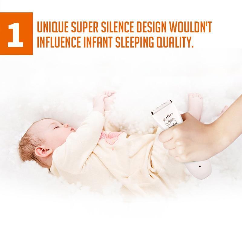 Tondeuse rechargeable pour bébé