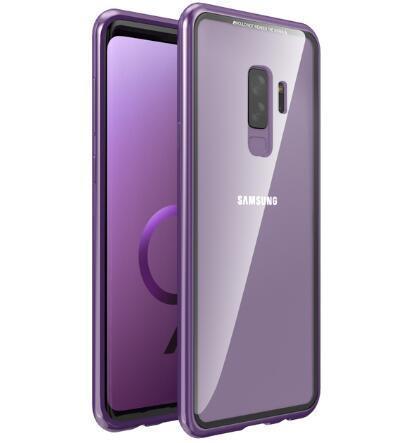 Mangetio : Etui magnétique en verre pour Samsung