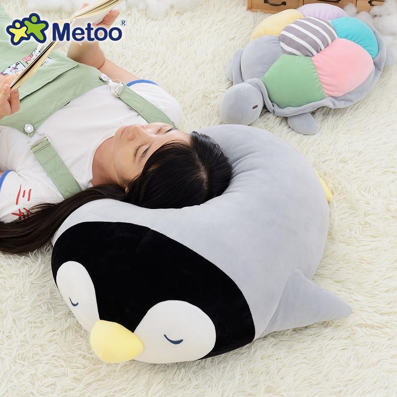 Cute coussin pingouin & tortue
