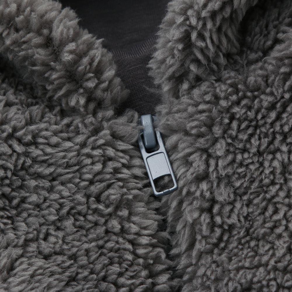 Cute veste en fourrure automne hiver