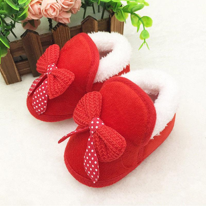 Cute chaussons avec nœud pour automne & hiver