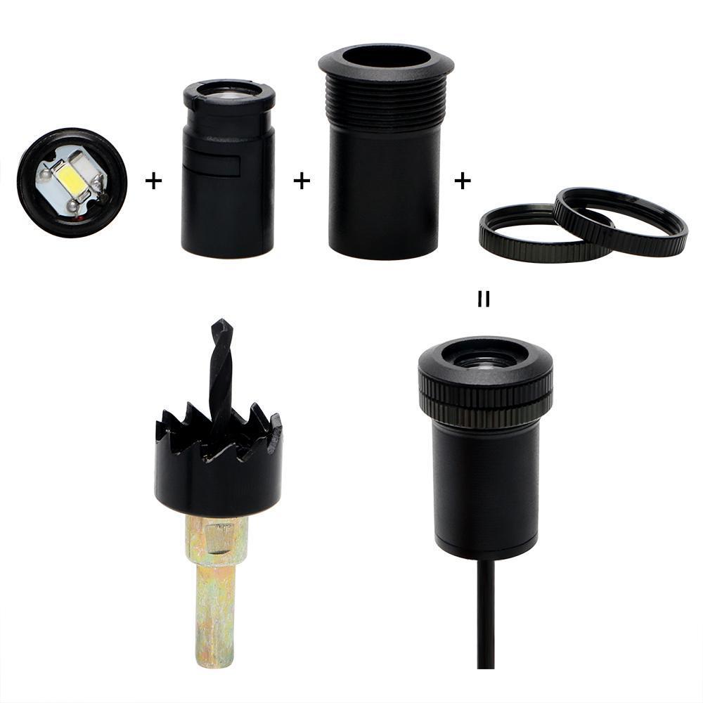 Projecteur LED porte de voiture ( 2 pièces )