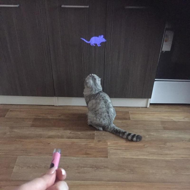 Laser souris interactif pour chat