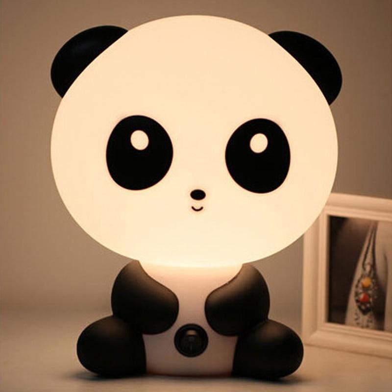 Veilleuses Kawaii Panda, Lapin & Chien