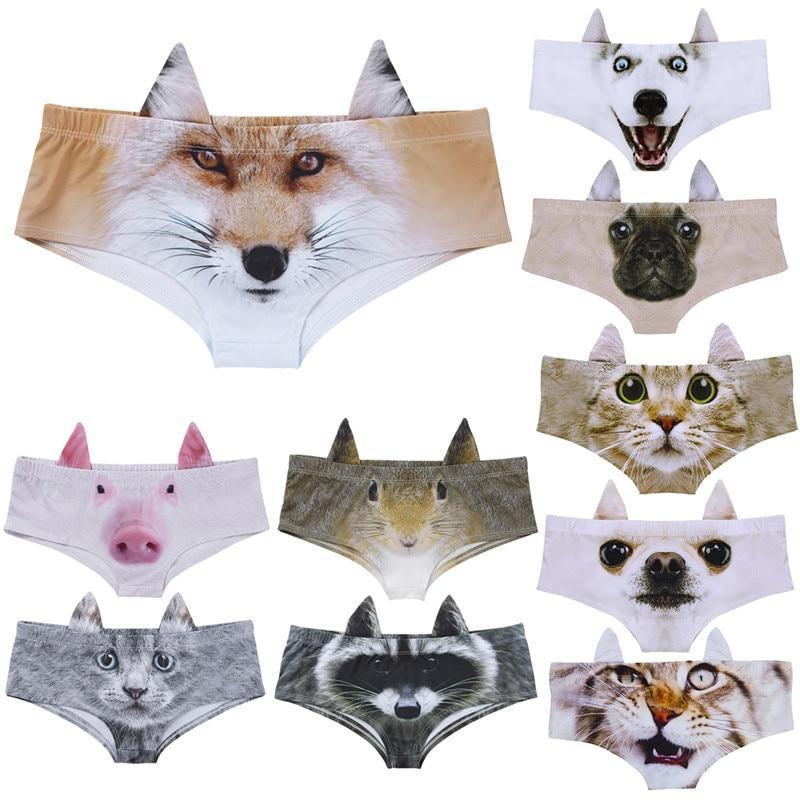 Sous-Vêtements avec motif Animal