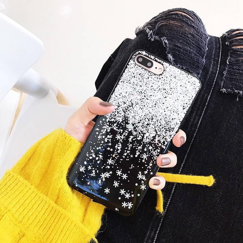 Coque Iphone Flocon De Neige
