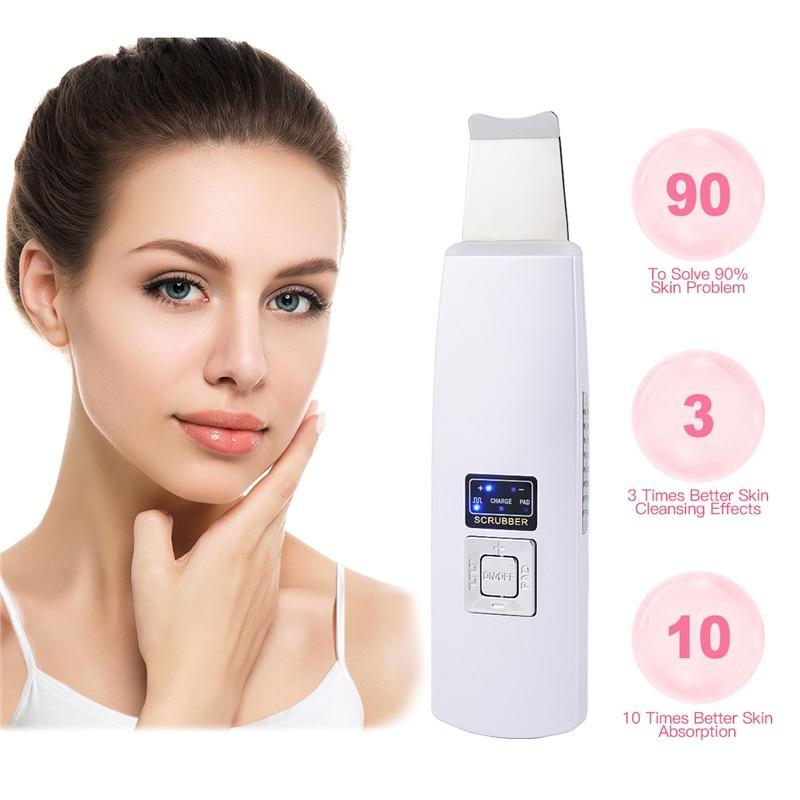 Nettoyeur de peau à ultrasons