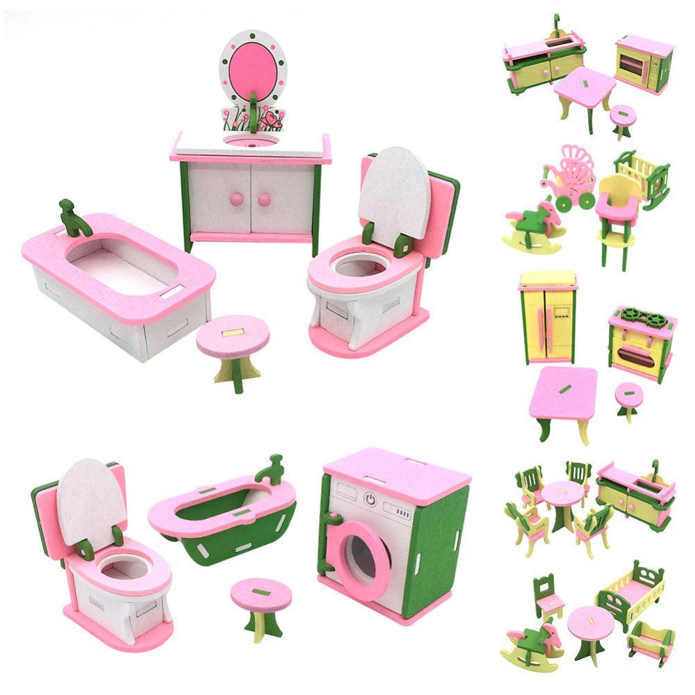 Dollhouse : Meubles Miniature En Bois