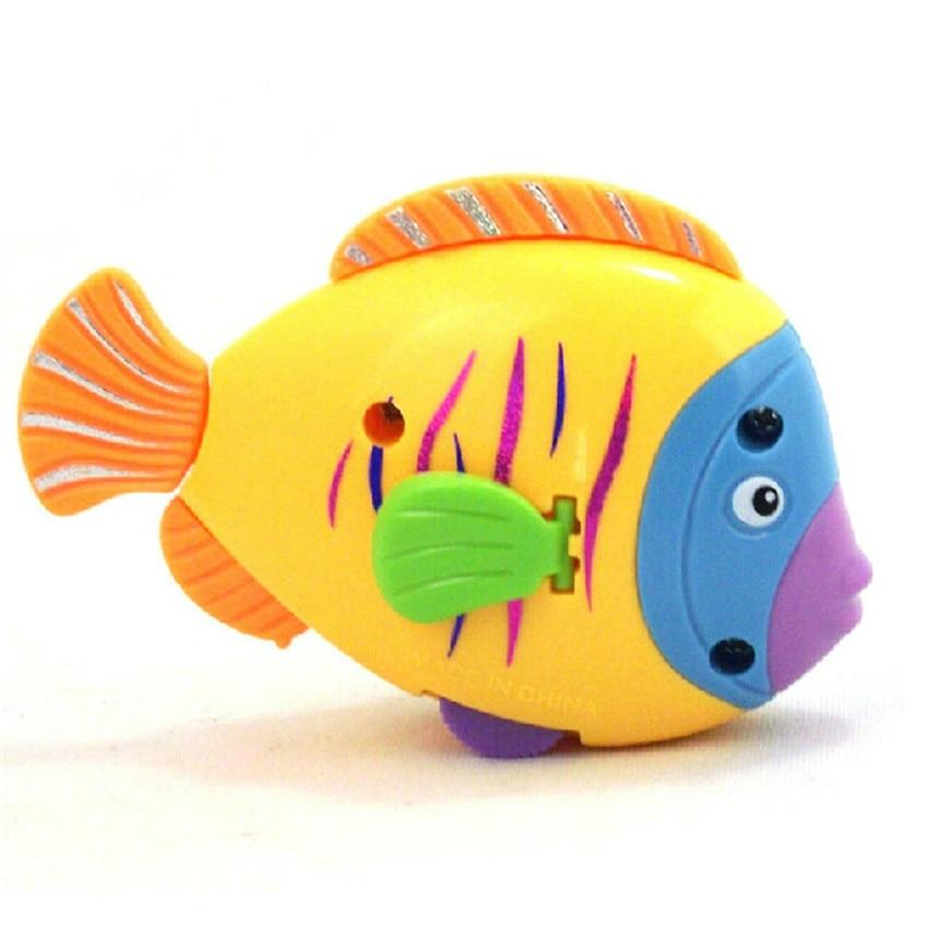 Poisson de bain multicolore