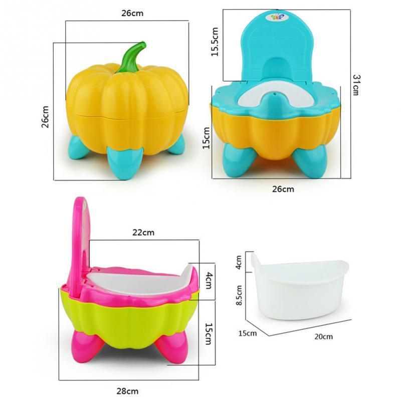Pot citrouille portable ergonomique