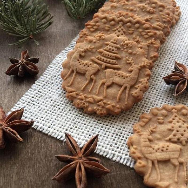 Rouleau à pâtisserie de Noël