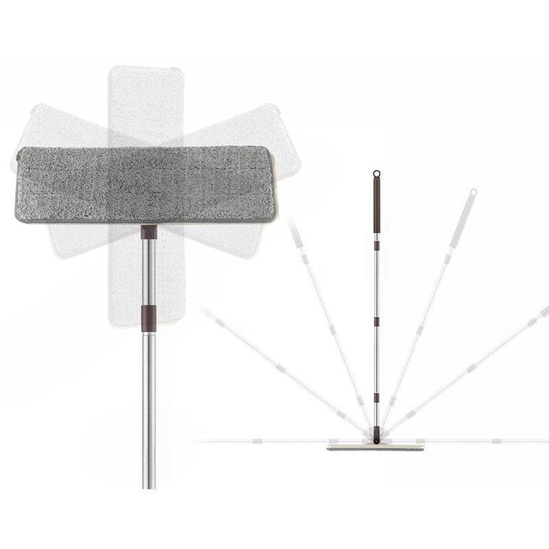 Balai rotatif ultra pratique