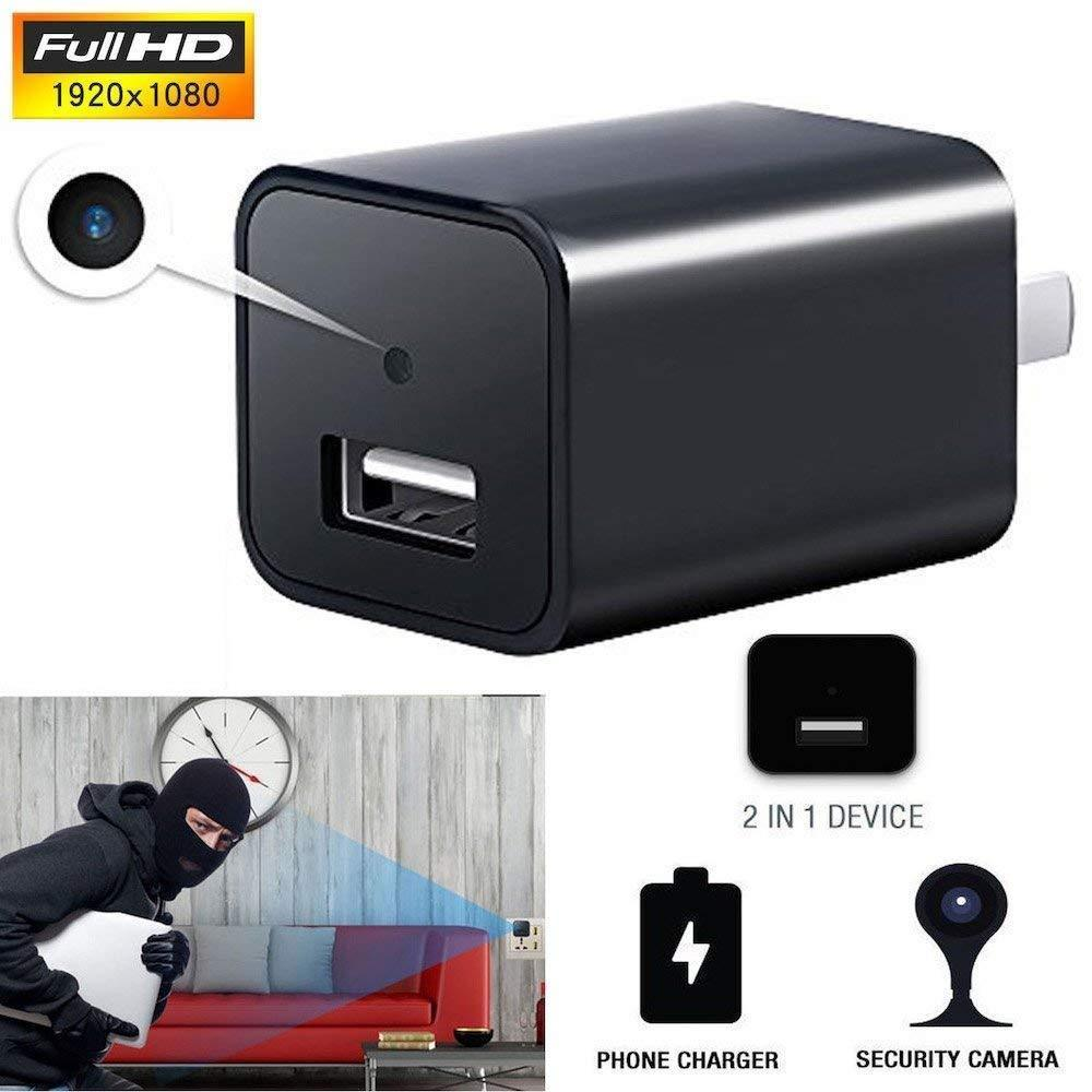 Chargeur caméra espion USB