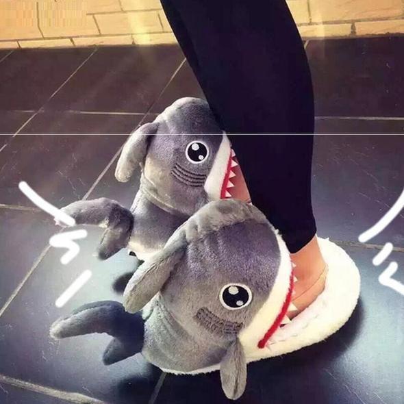 Chaussons Pantoufles Requin