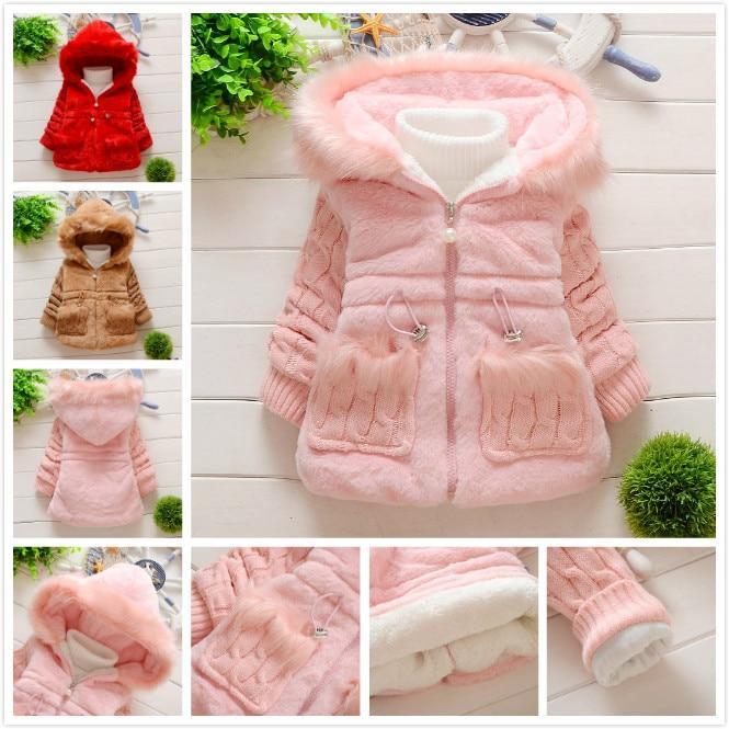 Cute manteau en fourrure