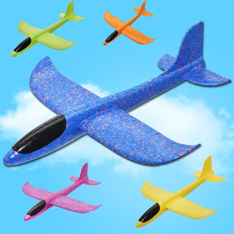 Avion planeur en polystyrène