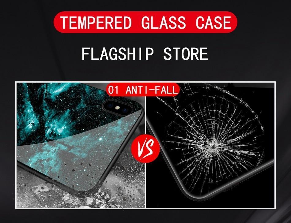 Coque en verre trempé ultra design