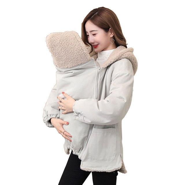 Joli Manteau de maternité 2 en 1