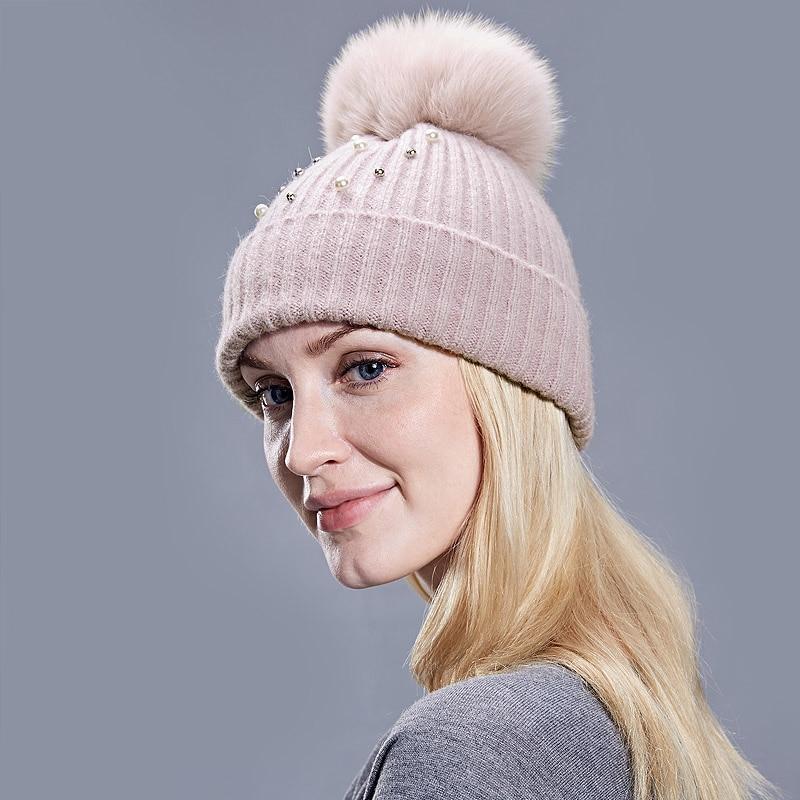 PomPerla: Bonnet Avec Perles Pompom et Strass