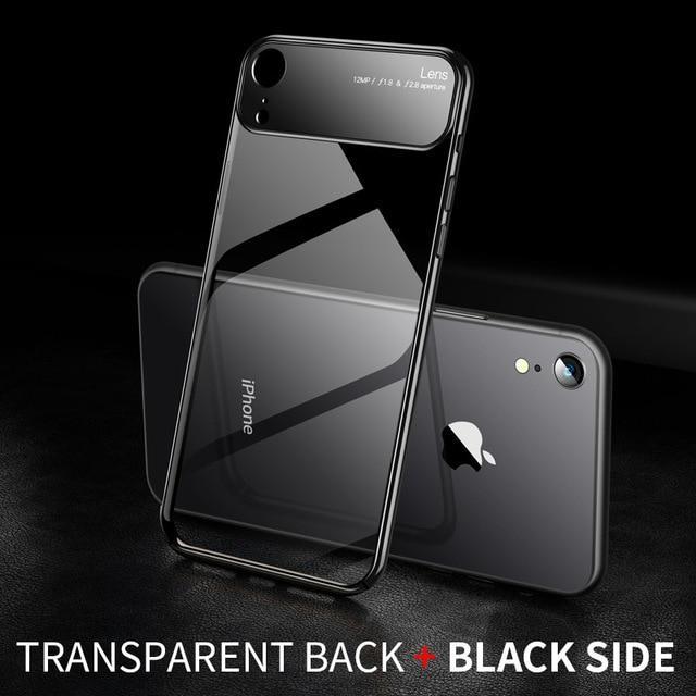Coque slim en verre pour Iphone