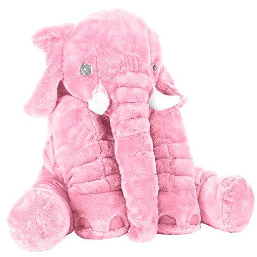 Peluche Elephant Géante 65 Cm Et 45 Cm