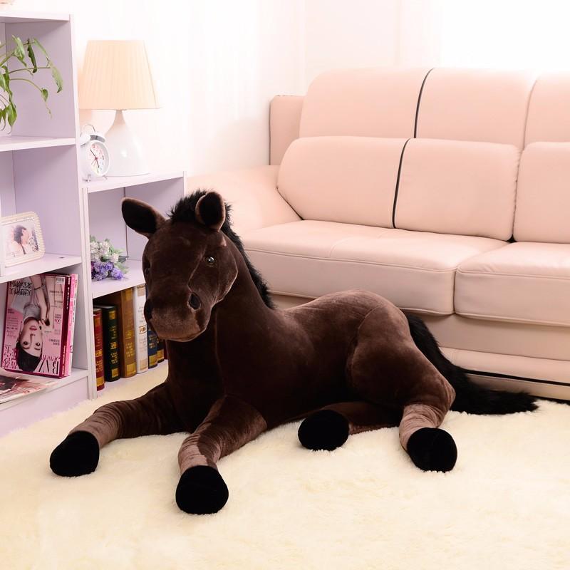 Cute Peluche cheval 70 cm