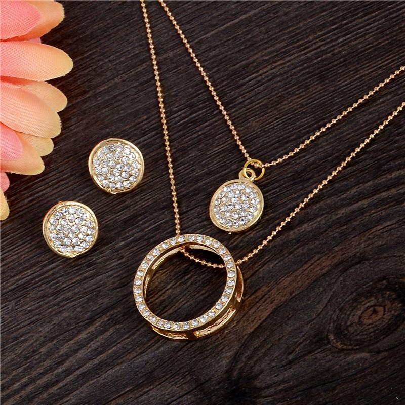 Ensemble de bijoux en cristal autrichien