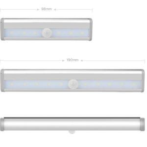Lampe LED avec détecteur de mouvements