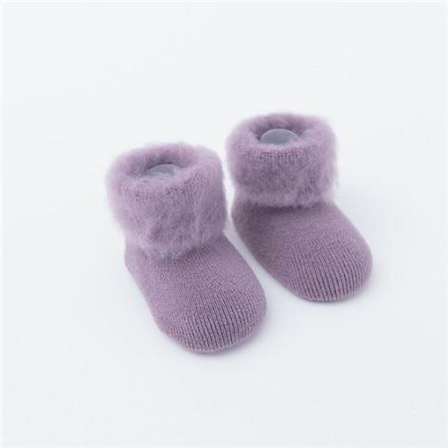 Chaussettes en bouclette pour bébé