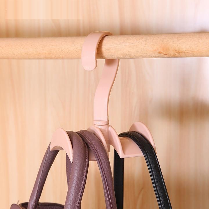 Cintre porte-sac à main rotatif