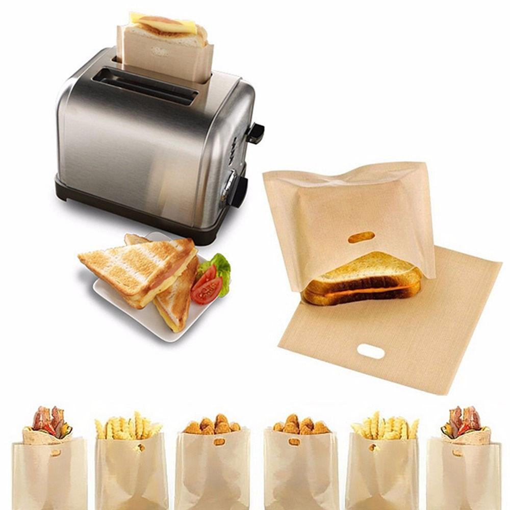 Sac grille-pain réutilisable (10pcs)