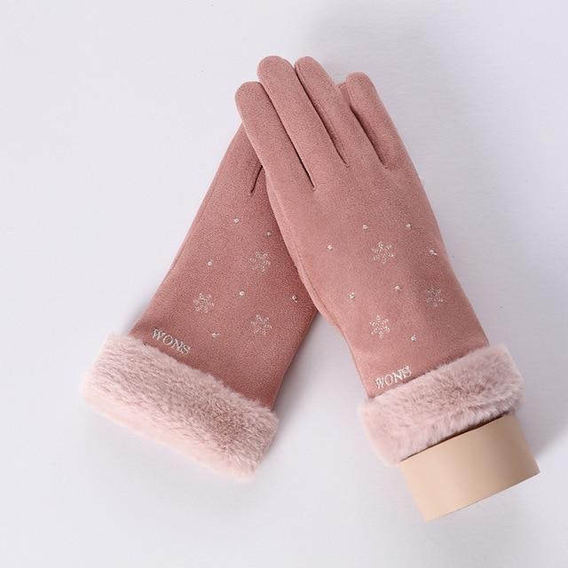 Cute Gants Tactiles pour Femmes