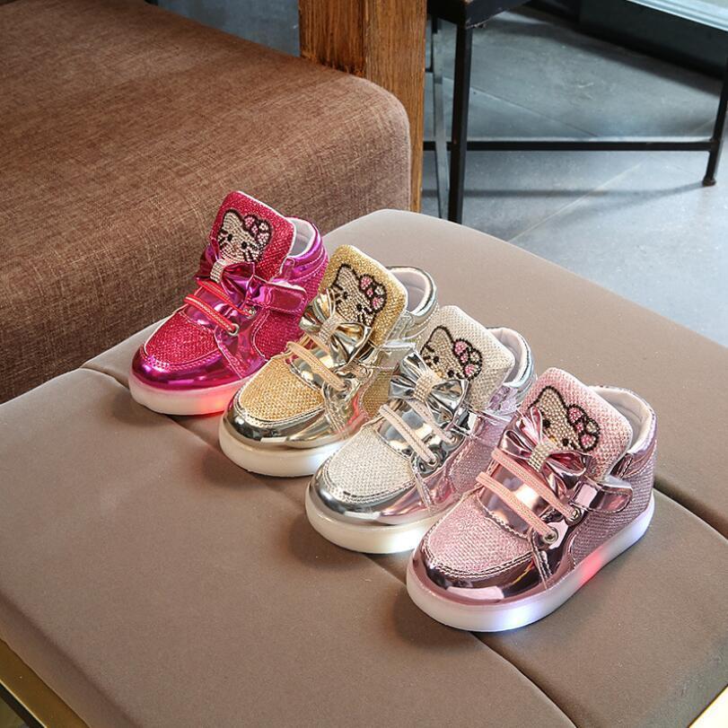 Chaussures led pour enfants