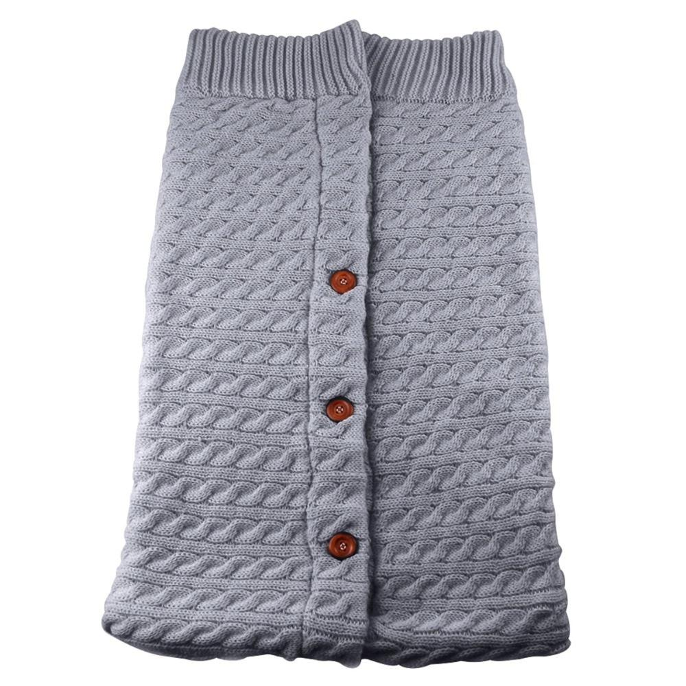 Jolie gigoteuse tricoté pour bébé