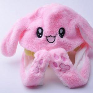 BunnyHat® Bonnet lapin Lumineux aux oreilles qui bougent