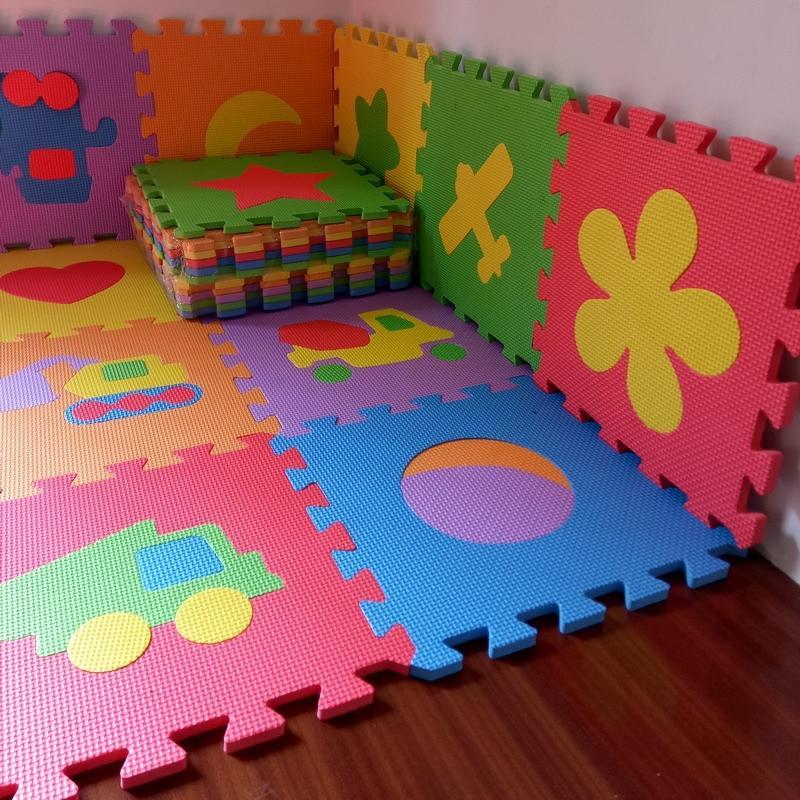 Tapis puzzle en mousse pour bébé (10pcs)