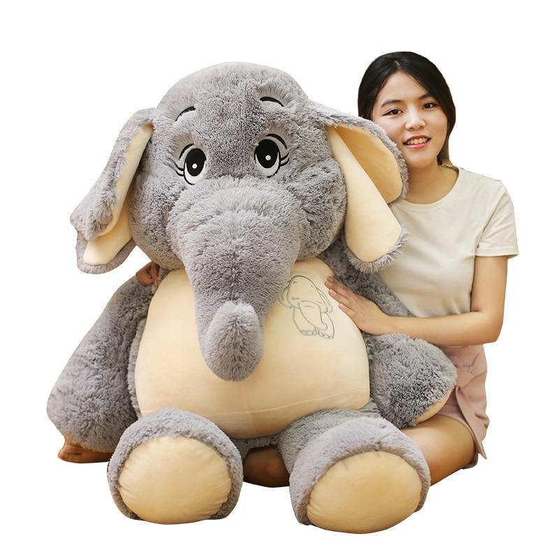 Magnifique peluche éléphant