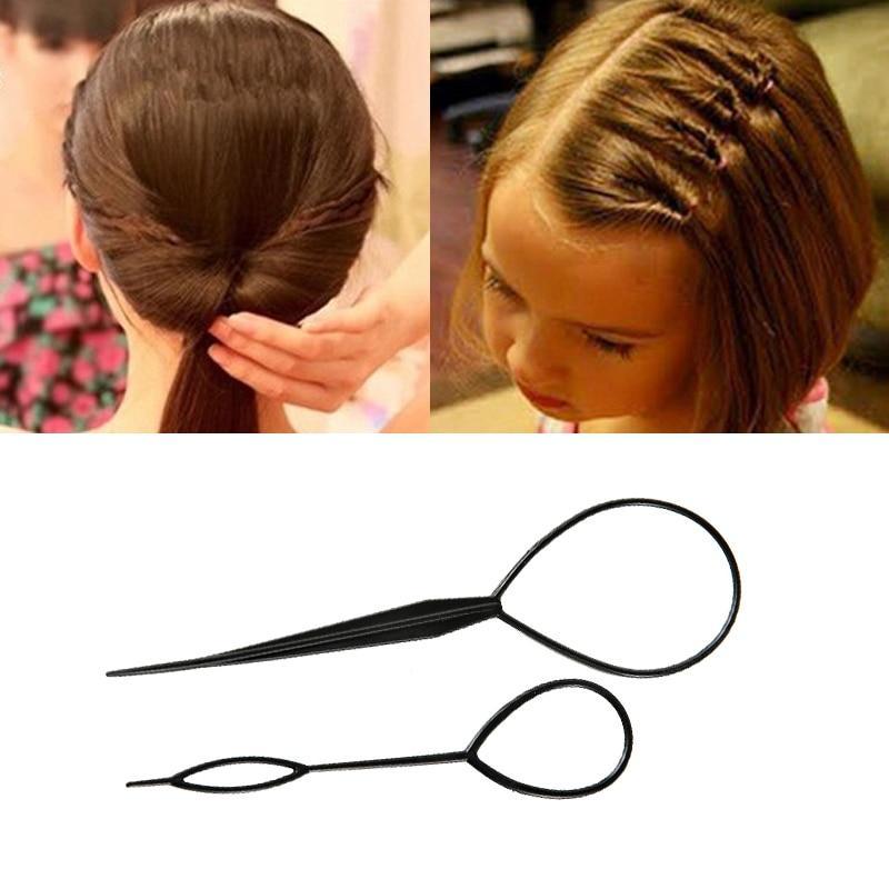 Épingle cheveux en plastique(2pcs)