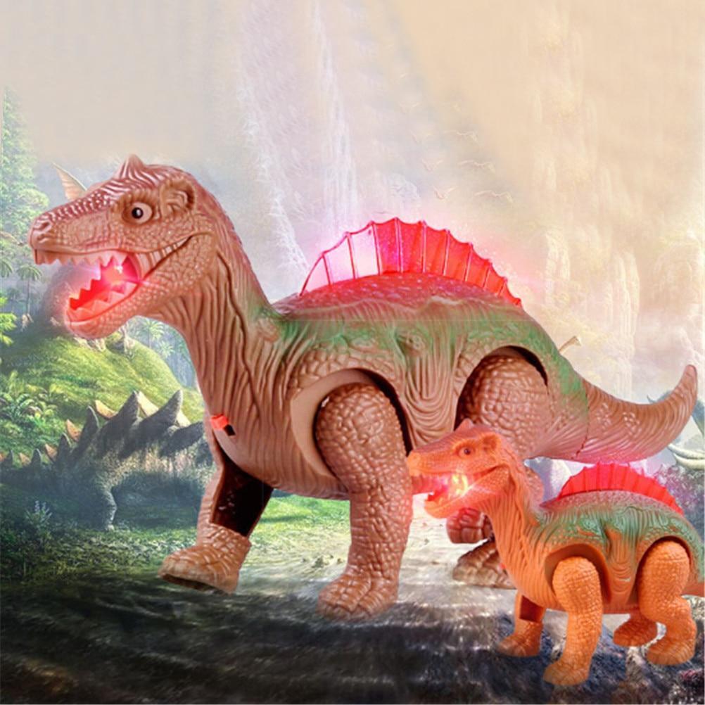 Dinosaure robot lumineux