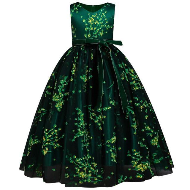 Cute robe de princesse floral