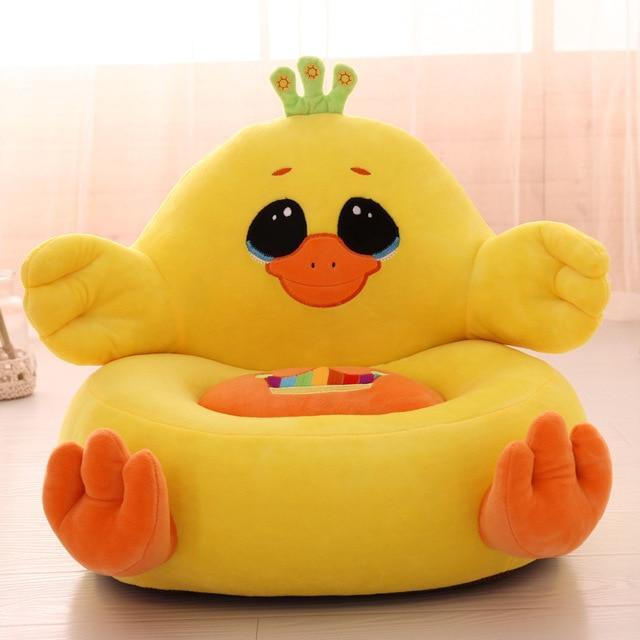 Housse fauteuil peluche pour enfant