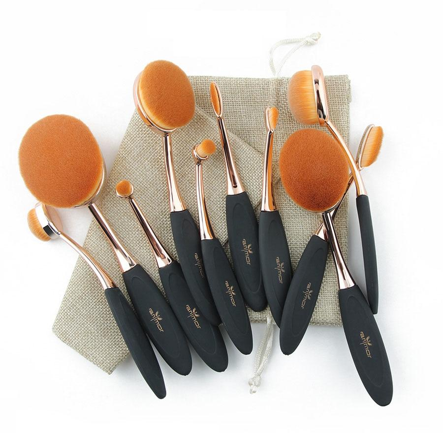 Ensemble Brosses de maquillage (10pcs)