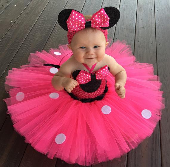 Robe Micky pour petite fille