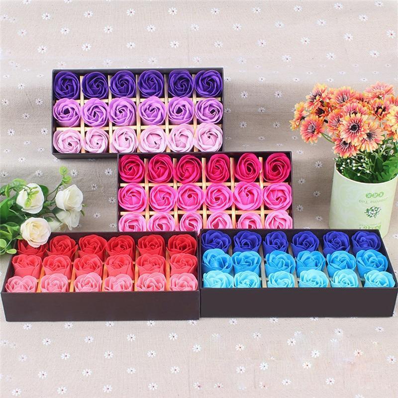 Coffret de roses parfumées(18pcs)