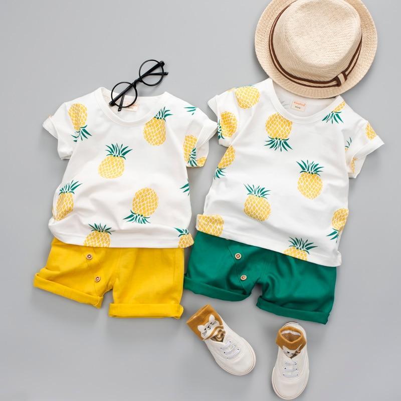 Cute ensemble bébé Hawai