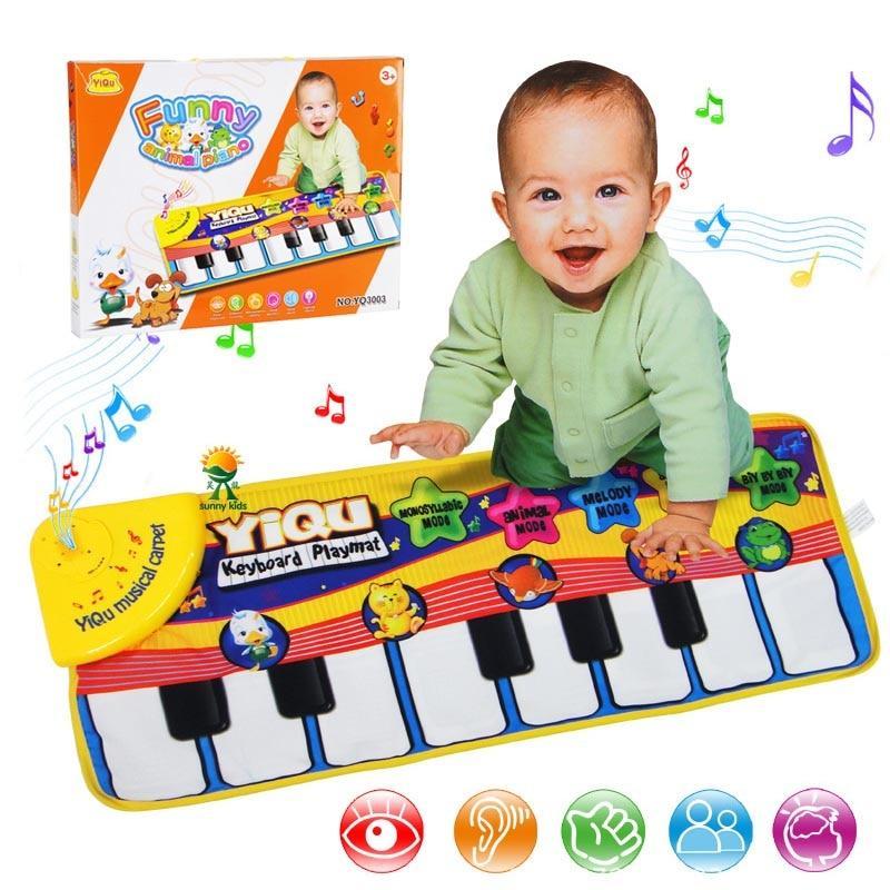 Tapis musical & clavier de piano